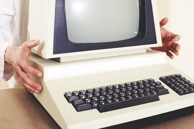 retro počítač