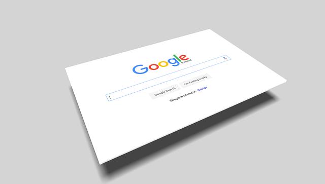 Google, internetový vyhľadávač